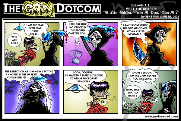 The Grim DotCom, episode 1.1